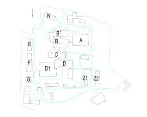 Mapa bolnice